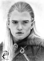 Lord of the Rings - Legolas by Cookai