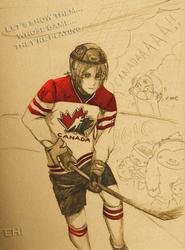 GO CANADA by CenaFenrier