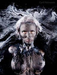 Medusa by Cyril-Helnwein