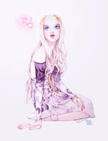 Witchy Art Challenge D20 DREAM WITCH by Mashiiro