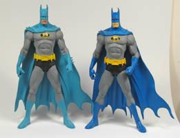 Batman paint comparison by BLACKPLAGUE1348