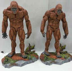 Sasquatch factory paint sample by BLACKPLAGUE1348