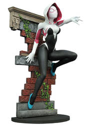 Friendly neighborhood Spider-Gwen! by BLACKPLAGUE1348