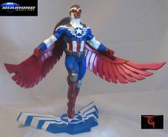 Captain America! by BLACKPLAGUE1348