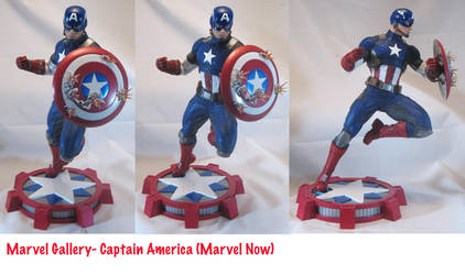 Marvel Now! Captain America by BLACKPLAGUE1348