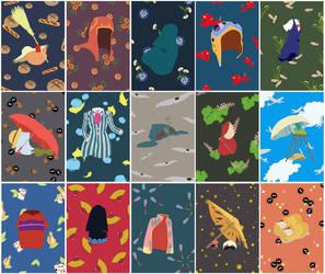 Studio Ghibli - Series 1 by Maylise-art