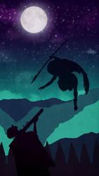 Mononoke versus Laby Eboshi by Maylise-art