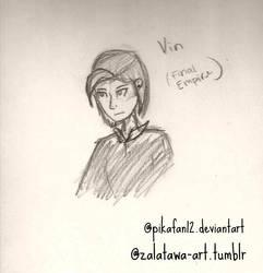 Vin sketch by pikafan12