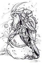 Bride of Krampus (WIP #2) by Psychoboy07