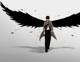 Castiel by bluehorse-rmd