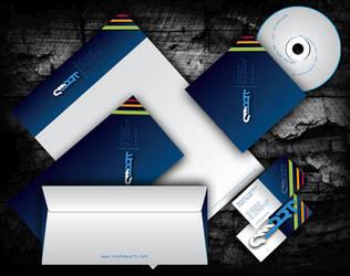 corporate design by Q-harrr