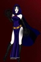 Teen Titans - Raven by Jaz-Merigold