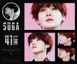 Suga (BTS) PHOTOPACK by wiintermoon