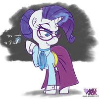 Professor Rarity by iloota
