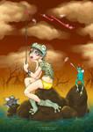 ++ Wannabe Frog ++ by BlackCat-dd