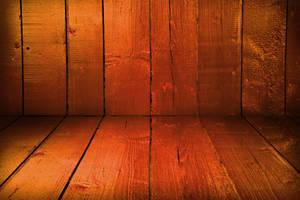 Wooden Room by mkrukowski