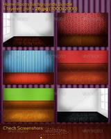 Home Room Backgrounds Bundle by mkrukowski