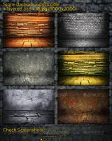 Stone Backgrounds Bundle by mkrukowski