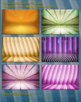 Retro Backgrounds Bundle by mkrukowski