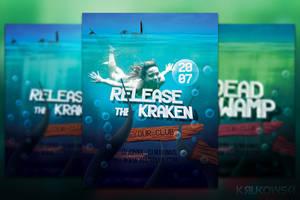 Release the Kraken Flyer or Poster by mkrukowski