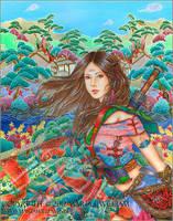 Lady Sun by MJWilliam