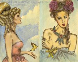 Sketchbook 19: Broken Wonderland, Dollhouse Blues by MJWilliam