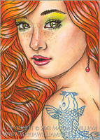 Iridescence - ACEO by MJWilliam