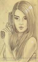 Sketchbook 36: Beware by MJWilliam