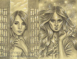 Sketchbook 43: Await, Birth Of Magic by MJWilliam