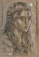 Frozen Kingdom - sketch by MJWilliam