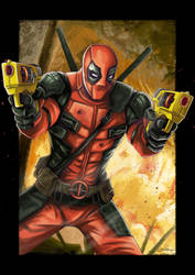 Deadpool by Lillidan86