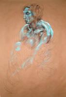 Figure in Blue by DEREKoverfield