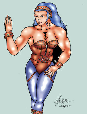 Angela Belti _colored by SilverBolt14
