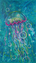 Jellyfish dream by PrincessNarutofan