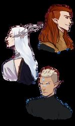 Dragon age - Elven pantheon 1 by xXxAnnaXx