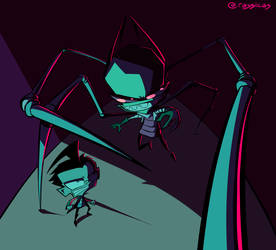*posts invader zim art for the first time in 3 yea by TheTogekiss