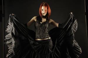 Black Bride Stock 01 by Gilliann
