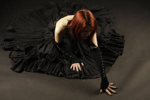 Black Bride Stock 02 by Gilliann