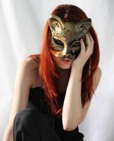 Cat Mask Stock 05 by Gilliann