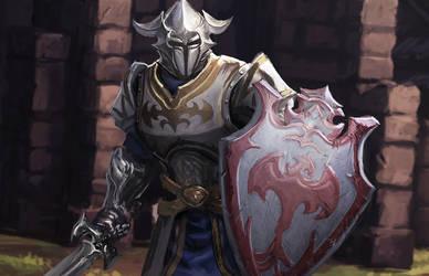 Wyvern Knight by irvintustin