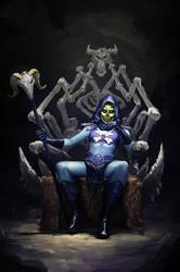 Lady Skeletor (Updated) by irvintustin