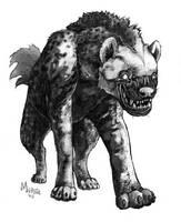 'Hyaenodon' by caramitten