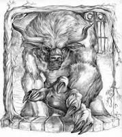 Minotaur by caramitten