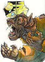 Generic Werewolf by caramitten