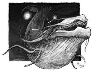 Stygian Leviathan - original by caramitten