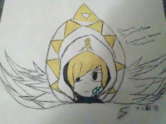 Toon Link as Archangel by BlueShinyYveltal