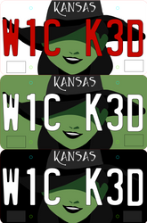 Wicked Plates by NomadicStardust
