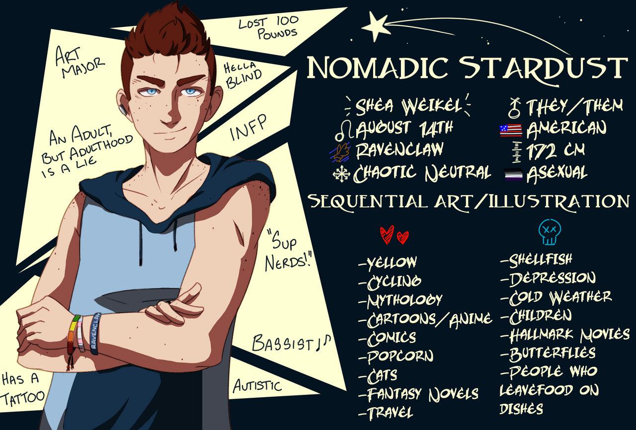 NomadicStardust's Profile Picture