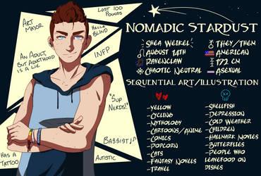 Meet the Artist 2 by NomadicStardust