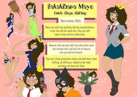 BNHA oc Sakakibara Mayo by Art-Might